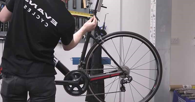 Measure Bicycle Frame Size
